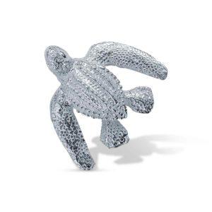 Lederschildkröte Silber Anhänger