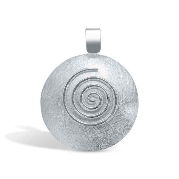 Spiral Anhänger Silber