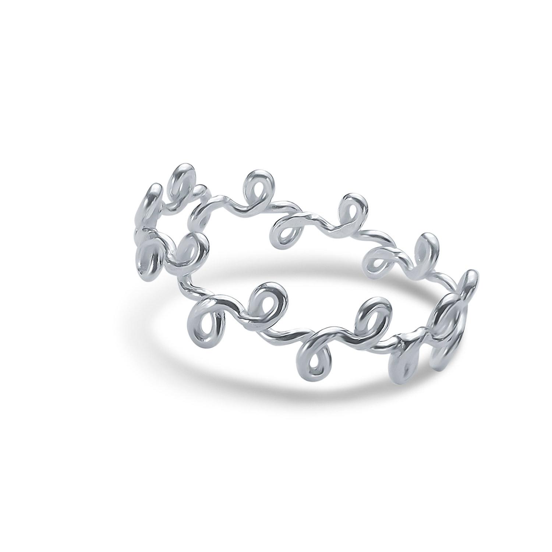 Silberdraht Ring