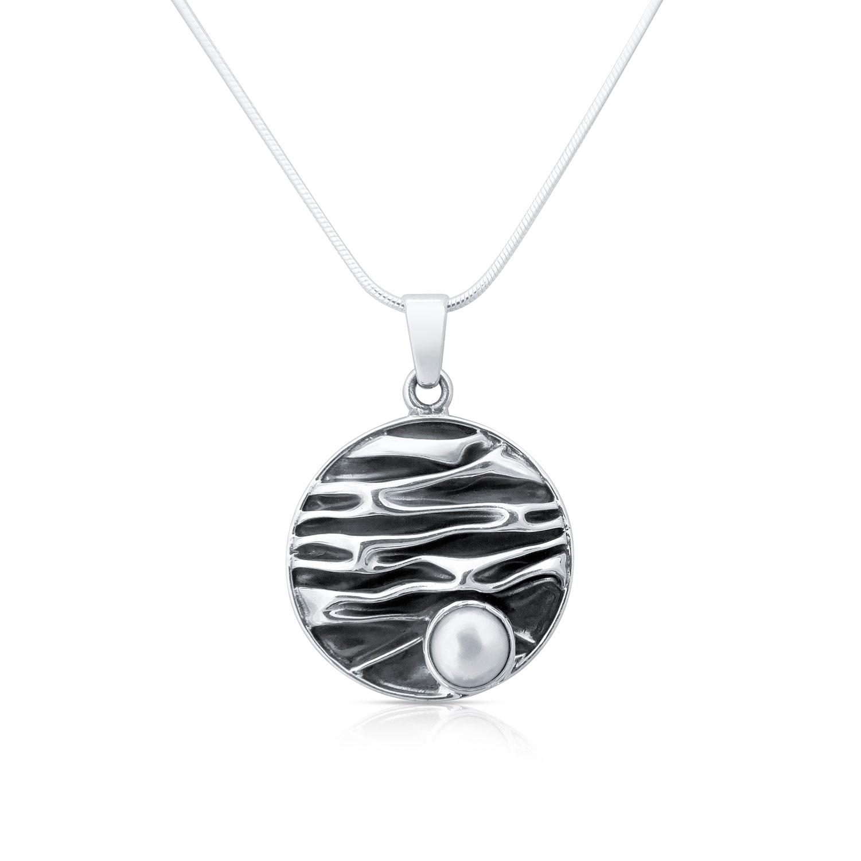 Silber Perl Anhänger