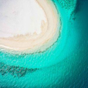 weißer strand