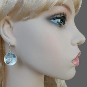 Perl Ohrhänger Silber