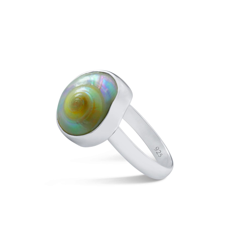 Knopfschnecken Ring