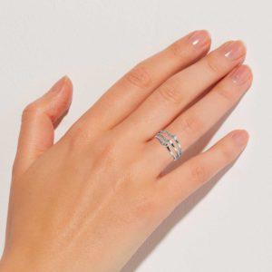 Nalu Silber Finger Ring
