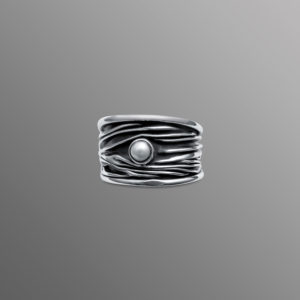 Ring Silber Perle