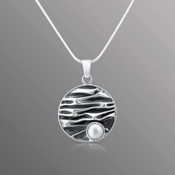 Silber Perlen Anhänger